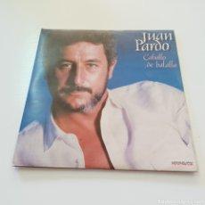 Discos de vinilo: JUAN PARDO - CABALLO DE BATALLA - DOBLE LP 1983 HISPAVOX. Lote 278209618