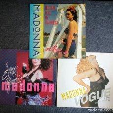 Discos de vinilo: LOTE VINILOS MADONNA (VER FOTOS Y DESCRIPCIÓN). Lote 278212818