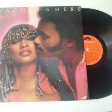 Discos de vinilo: PEACHES & HERB LP TWICE THE FIRE 1979 CON ENCARTE VG+ FUNK SOUL. Lote 278215528