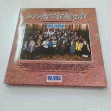 Discos de vinilo: WE ARE THE WORLD - USA FOR AFRICA - MICHAEL JACKSON LIONEL RICHIE .... Lote 278215993