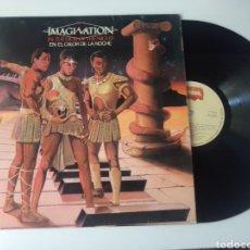 Discos de vinilo: IMAGINATION LP EN EL CALOR DE LA NOCHE 1982 FUNK SOUL. Lote 278216183