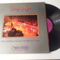 Discos de vinilo: DEEP PURPLE LP MADE IN EUROPE 1976 GATEFOLD VG+. Lote 278219763