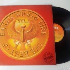 Discos de vinilo: EARTH WIND & FIRE LP THE BEST OF 1979 GATEFOLD VG+ FUNK SOUL. Lote 278220548