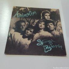 Discos de vinilo: AMONITION - STRANGE BEHAVIOR 1986 HOLLAND. Lote 278226828