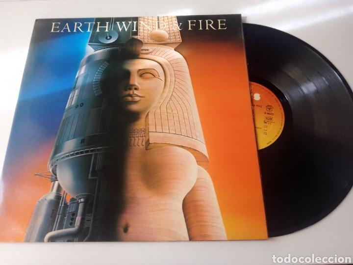 EARTH WIND & FIRE LP RAISE 1981 GATEFOLD CON ENCARTE VG+ (Música - Discos - LP Vinilo - Funk, Soul y Black Music)
