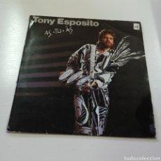 Discos de vinilo: TONY ESPOSITO - AS TU AS 1985 DISCOS VICTORIA MADRID. Lote 278228003