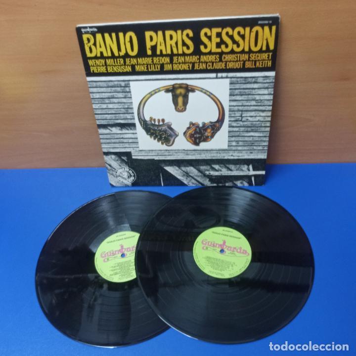 DOBLE LP DISCOS DE VINILO - BANJO PARIS SESSION - SELLO GUIMBARDA (Música - Discos - LP Vinilo - Country y Folk)