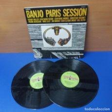 Discos de vinilo: DOBLE LP DISCOS DE VINILO - BANJO PARIS SESSION - SELLO GUIMBARDA. Lote 278228653