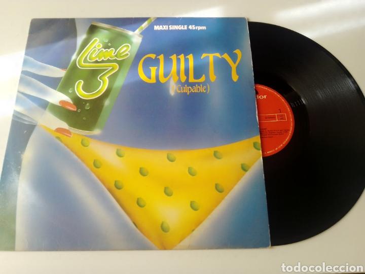 LIME MAXI GUILTY 1983 (Música - Discos de Vinilo - Maxi Singles - Pop - Rock - New Wave Internacional de los 80)