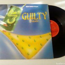 Discos de vinilo: LIME MAXI GUILTY 1983. Lote 278229113