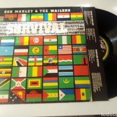 Dischi in vinile: BOB MARLEY & THE WAILERS LP SURVIVAL 1979 CON ENCARTE VG REGGAE. Lote 278230523
