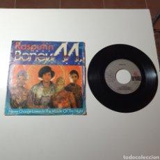 Discos de vinilo: 21-1. BONEY M - RASPUTIN / NEVER CHANGE LOVERS IN THE MIDDLE OF THE NIGHT, ARIOLA, 1978.. Lote 278230793