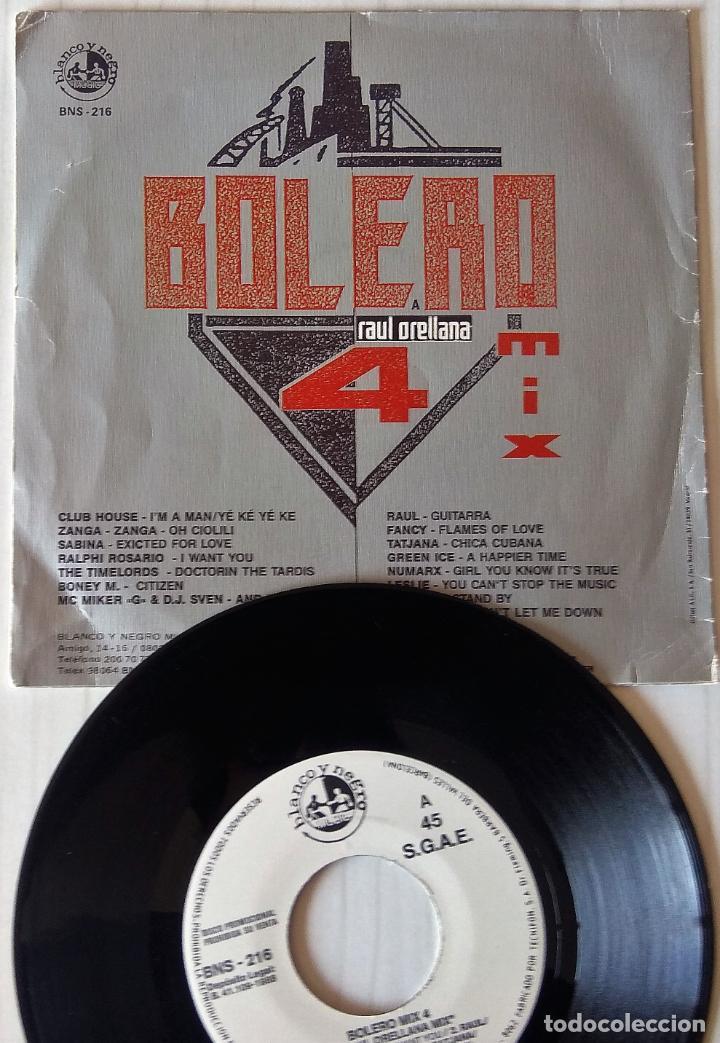 Discos de vinilo: BOLERO MIX 4 - A RAUL ORELLANA MIX BLANCO Y NEGRO PROMOCIONAL - 1988 - Foto 2 - 278230988