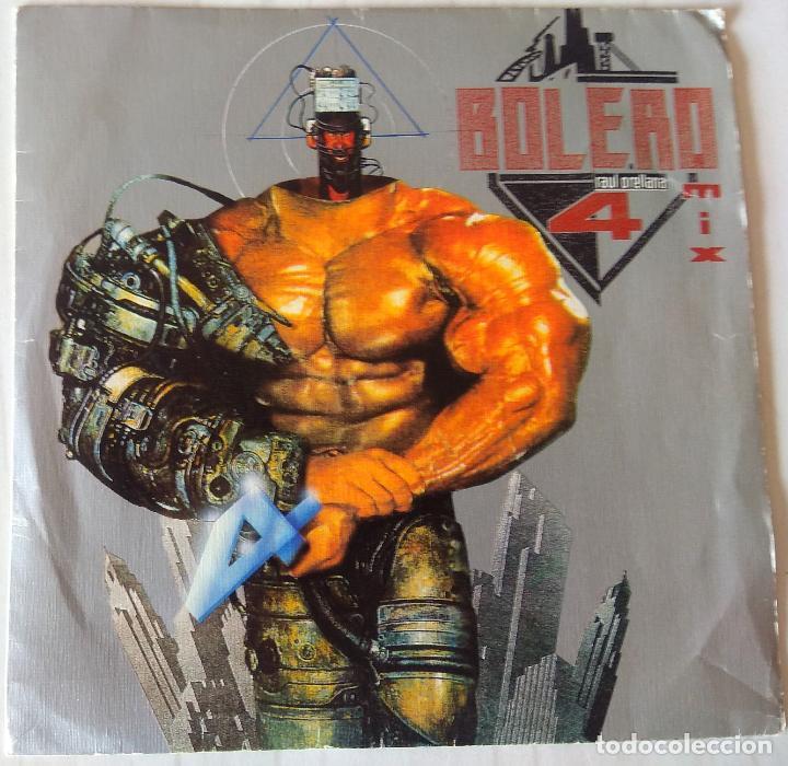 BOLERO MIX 4 - A RAUL ORELLANA MIX BLANCO Y NEGRO PROMOCIONAL - 1988 (Música - Discos - Singles Vinilo - Disco y Dance)