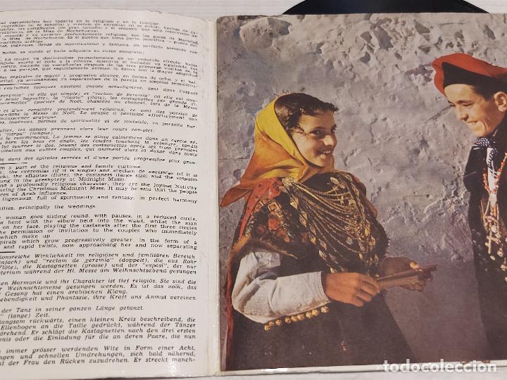 Discos de vinilo: IBIZA Y SU FOLKLORE / CANTOS Y DANZAS VOL 1º / EP-GATEFOLD - BELTER-1962 / MBC. ***/*** - Foto 2 - 278231343