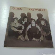 Discos de vinilo: QUEEN - THE WORKS 1984 EMI ODEON BARCELONA. Lote 278232093