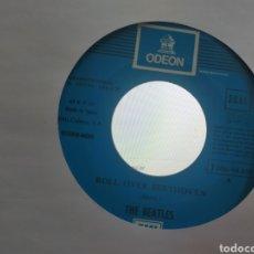 Disques de vinyle: THE BEATLES SINGLE ROLL OVER BEETHOVEN / A HARD DAY'S NIGHT ESPAÑA ESCUCHADO. Lote 278232483