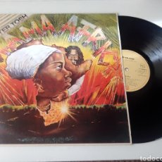 Discos de vinilo: PETER TOSH LP MAMA AFRICA 1983 CON ENCARTE. Lote 278234588