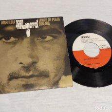 Discos de vinilo: JOAN MANUEL SERRAT / MARE LOLA + 2 / SINGLE - EDIGSA-1969 / MBC. ***/***. Lote 278235683