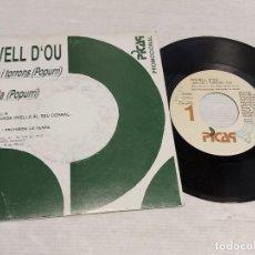 Discos de vinilo: ROVELL D'OU / NEULES I TORRONS-NIT BELLA / SINGLE-PROMO - PICAP-1989 / MBC. ***/***. Lote 278266003