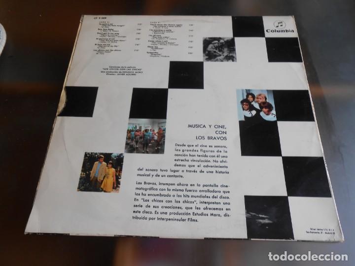 Discos de vinilo: BRAVOS, LOS - LOS CHICOS CON LAS CHICAS -, LP, TE QUIERO ASÍ + 11, AÑO 1967 - Foto 2 - 278274678