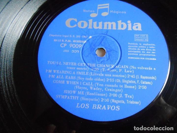 Discos de vinilo: BRAVOS, LOS - LOS CHICOS CON LAS CHICAS -, LP, TE QUIERO ASÍ + 11, AÑO 1967 - Foto 3 - 278274678
