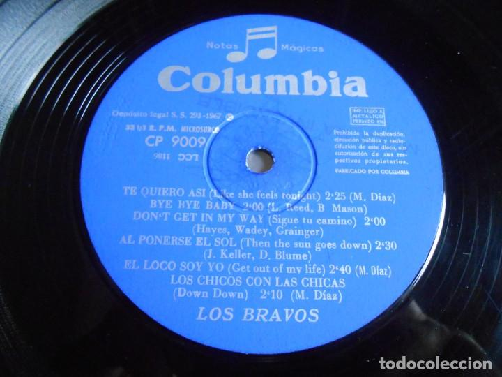 Discos de vinilo: BRAVOS, LOS - LOS CHICOS CON LAS CHICAS -, LP, TE QUIERO ASÍ + 11, AÑO 1967 - Foto 4 - 278274678