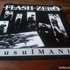 Discos de vinilo: FLASH ZERO - MUSULMANIA - MAXISINGLE ORIGINAL TOMA TOMA 1990. Lote 278276188