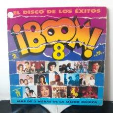 Discos de vinilo: LP BOOM 8. VARIOS. ROXETTE, SABINA,QUEEN, BRIAN MAY, CELTAS CORTOS, ETC.... Lote 278276923