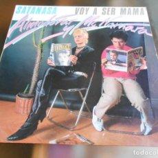 Discos de vinilo: ALMODOVAR & MCNAMARA - SATANASA -, MAXI-SINGLE, SATANASA + 2, AÑO 1983. Lote 278277683