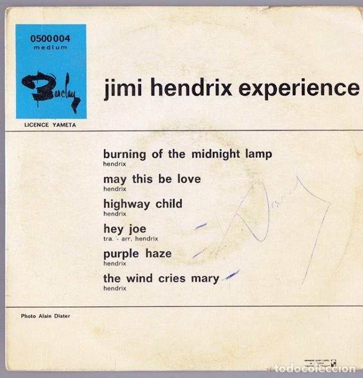 Discos de vinilo: JIMI HENDRIX ¨EXPERIENCE¨ (VINILO) - Foto 2 - 278281483