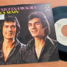 Discos de vinilo: LOS SENIN (ESTOY ENAMORADO) SINGLE 1991 ESPAÑA PROMO (EPI24). Lote 278284478