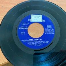 Discos de vinilo: SARA MONTIEL (DESESPERADAMENTE) SINGLE 1971 ESPAÑA (EPI24). Lote 278284733