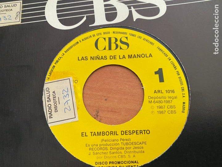 LAS NIÑAS DE MANOLA (EL TAMBORIL DESPERTO) SINGLE 1987 ESPAÑA PROMO (EPI24) (Música - Discos - Singles Vinilo - Flamenco, Canción española y Cuplé)