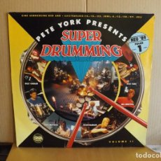 Discos de vinilo: PETE YORK ---- SUPER DRUMMING VOL. II. Lote 278287588