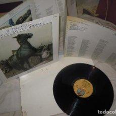Discos de vinilo: LP AL TALL; CANTA QUAN EL MAL VE D'ALMANSA 1979 DIAL, FOLK VALENCIANO, GATEFOLD, INSERTO TRIPTICO. Lote 278294413
