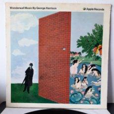 Discos de vinilo: DIFICIL!! GEORGE HARRISON. WONDERWALL MUSIC. APPLE. 1968. FRANCIA.. Lote 278318913