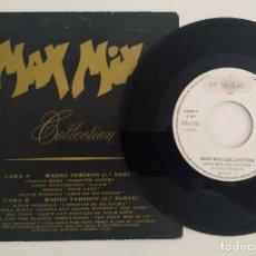 """Discos de vinilo: MAX MIX COLLECTION SINGLE VINILO 7"""" 1989 RADIO VERSION ITALIAN BOYS SPAGNA KYLIE MINOGUE VIOLA WILLS. Lote 278326048"""