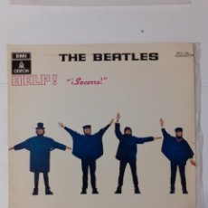 Discos de vinilo: THE BEATLES. HELP. ESPAÑA 1974 (1965). MOCL 136 1J060-04.257 M. DISCO VG++. CARÁTULA VG++.. Lote 278326968