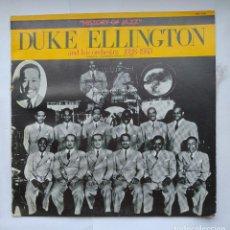 Discos de vinilo: DUKE ELLINGTON AND HIS ORCHESTRA. 1928-1933. HISTORY OF JAZZ. LP. TDKDA1. Lote 278328178