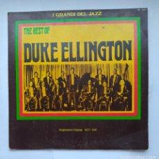 Discos de vinilo: THE BEST OF DUKE ELLINGTON. I GRANDI DEL JAZZ. LP. TDKDA1. Lote 278328278