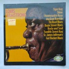 Discos de vinilo: LOUIS ARMSTRONG. TIGER RAG. SHINE. HONEYSUCKLE ROSE. LP. TDKDA1. Lote 278331563