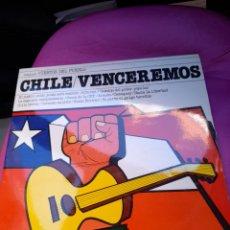 Discos de vinilo: CHILE,VENCEREMOS ,VINILO DE 1977 A ESTRENAR. Lote 278332668