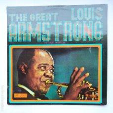 Discos de vinilo: THE GREAT LOUIS ARMSTRONG. 70 ANNIVERSAIRE. LP. TDKDA1. Lote 278333093