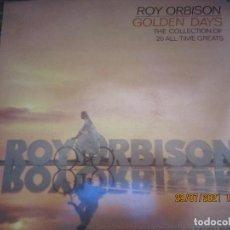 Discos de vinilo: ROY ORBISON - GOLDEN DAYS LP - EDICION INGLESA - MONUMENT RECORDS 1981 - STEREO -. Lote 278334613