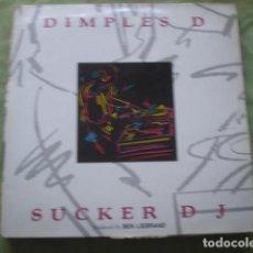 Discos de vinilo: DIMPLES D SUCKER DJ. Lote 278338728
