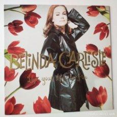 Disques de vinyle: BELINDA CARLISLE- LIVE YOUR LIFE BE FREE- SPAIN LP 1991 + ENCARTE- GO GO´S- VINILO COMO NUEVO.. Lote 278339183