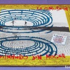 Discos de vinilo: LA CHUSMA - CAMINANDO SIN HOGAR - LP. Lote 278340363
