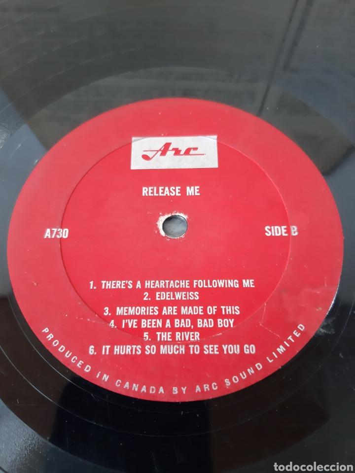 Discos de vinilo: MUY RARO! RELEASE ME. VARIOS COUNTRY. CANADA. A730. - Foto 3 - 278340903