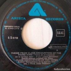 Discos de vinilo: JOHN WILLIAMS - ENCOUNTERS OF THE THIRD KIND ARISTA - 1978. Lote 278342703